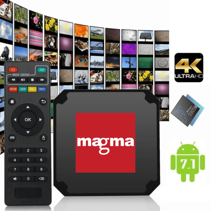Magma box - Smart TV